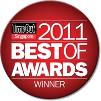 Time Out Singapore Best of Awards 2011