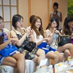 Miss Singapore attending Ikeda Spa Beauty Workshop