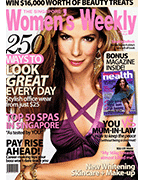 Singapore Women's Weekly Press Cover