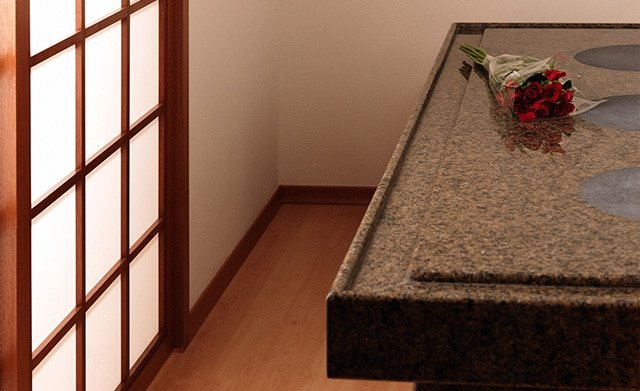 Ganbanyoku Stone Bed