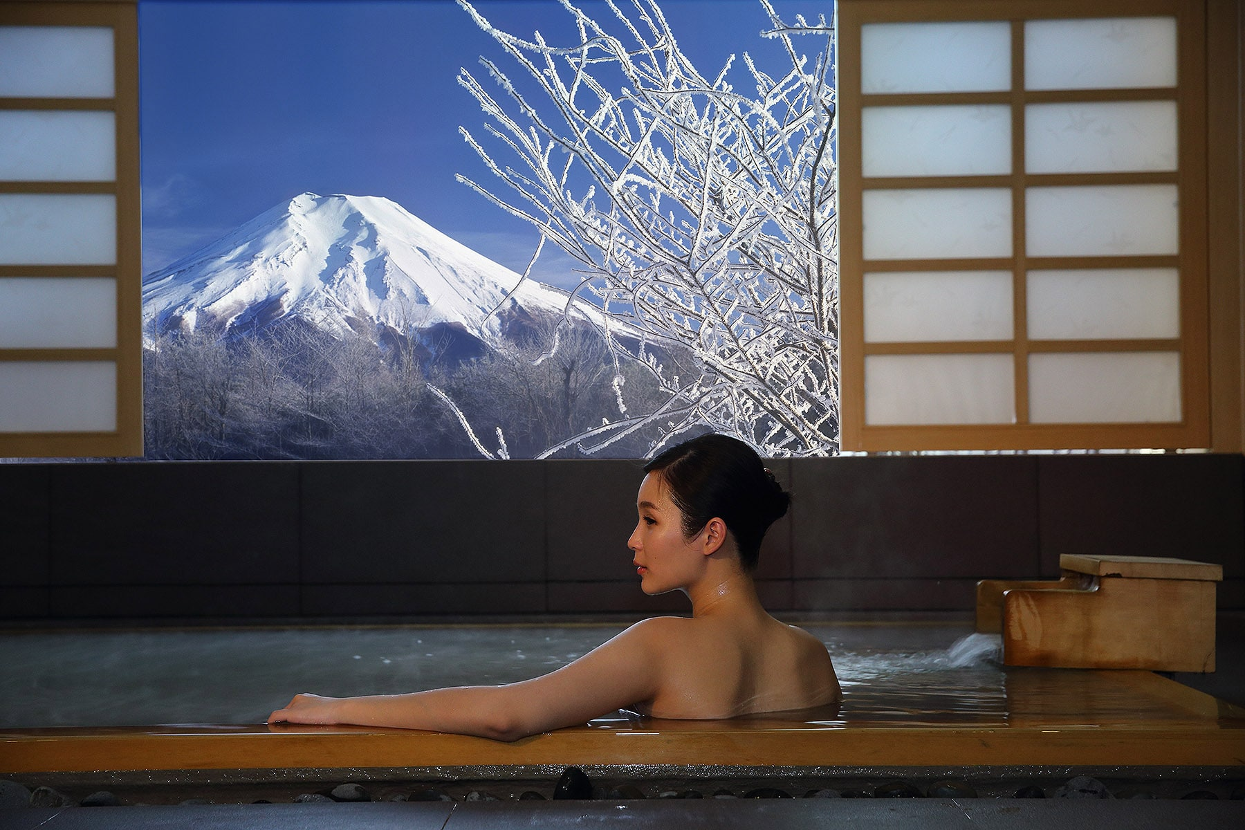 Hinoki Onsen Bath (Couple)