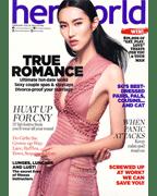 HerWorld Magazine Press Cover