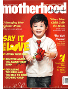 Motherhood Magazine Press Cover