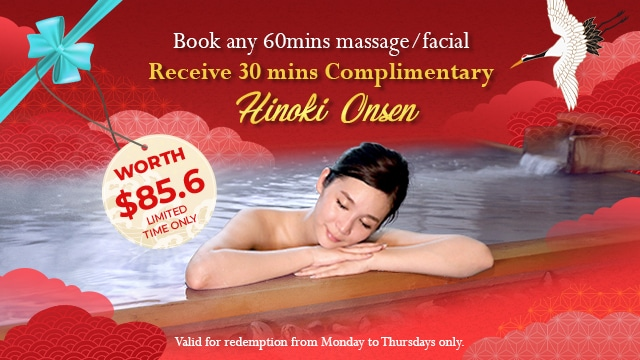 Great Singapore Sale 2019 at Ikeda Spa - Promotion Banner
