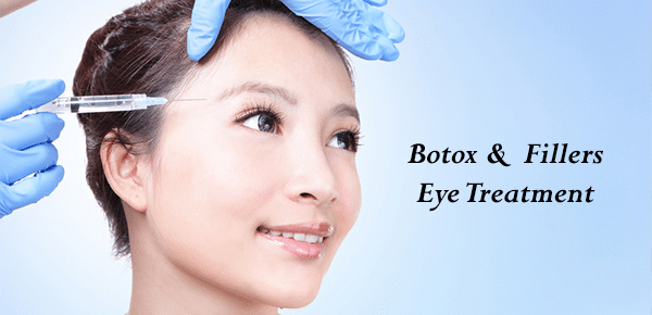 Botox and fillers eye treatment
