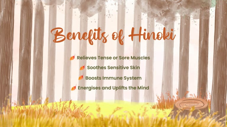 spa deals singapore - benefit of hinoki