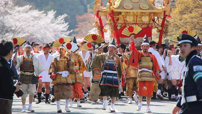 Japan during Spring- japan spring festival