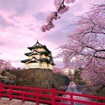 japan during spring