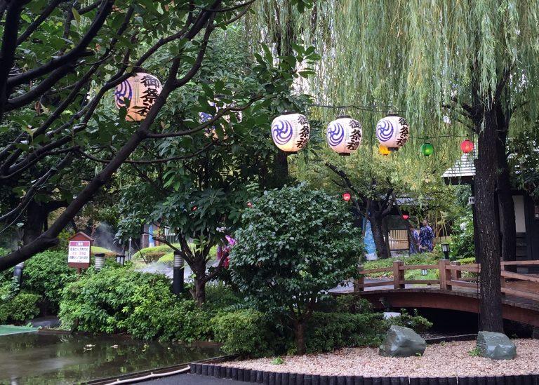 japan solo trip onsen amusement park