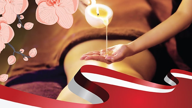 National Day Promotion Zen Candle