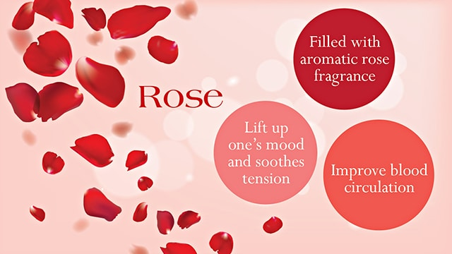 valentine spa - rose benefits
