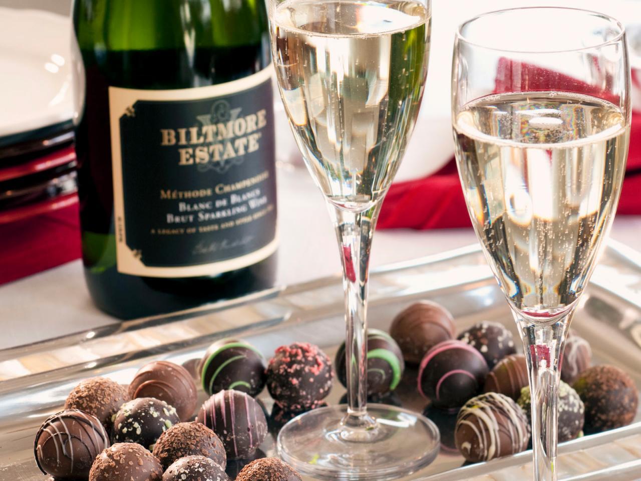 valentine special - sparkling wine