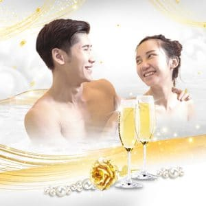 Spa Promotion - Luxe Pearl & Gold Indulgence Valentine Spa