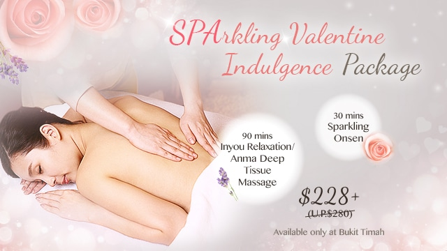 valentine spa promo - bt single
