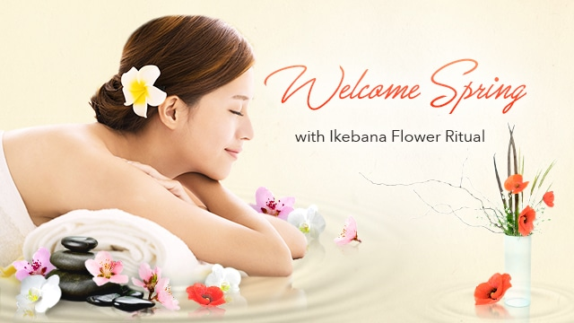 Jayne Tham tried Ikedana Flower Ritual