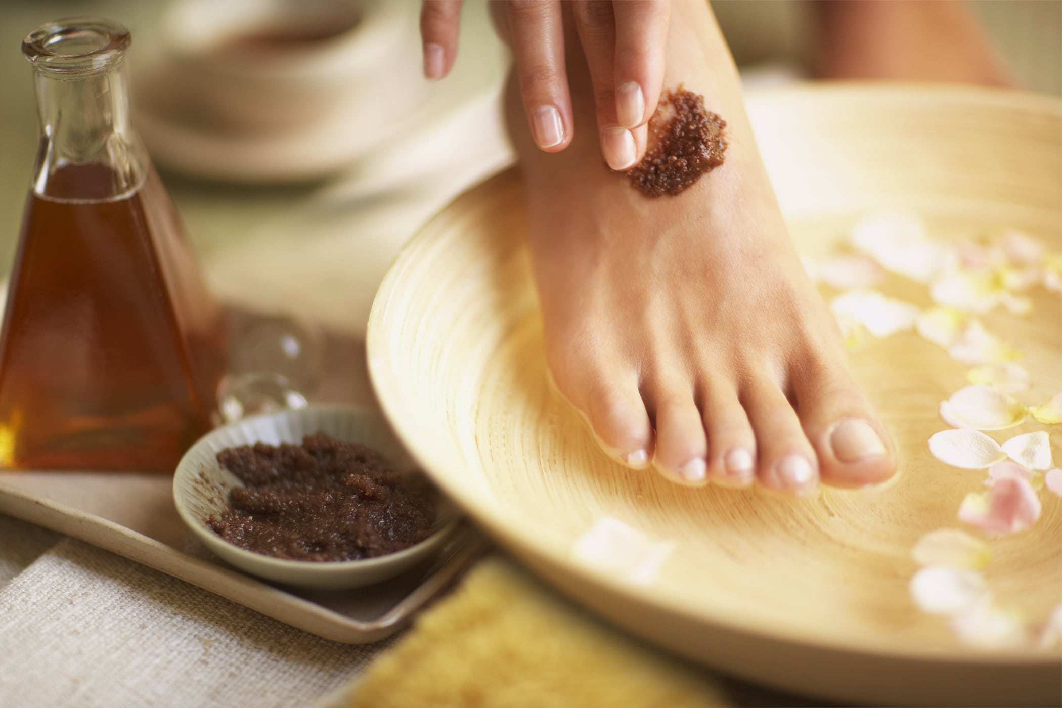 foot scrub - body scrub