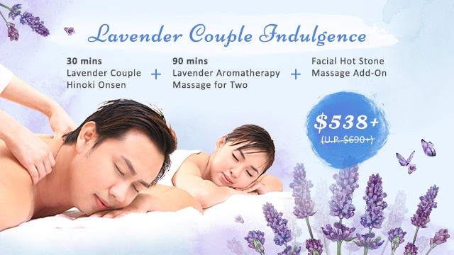 mother's day spa - couple package at clarke quay