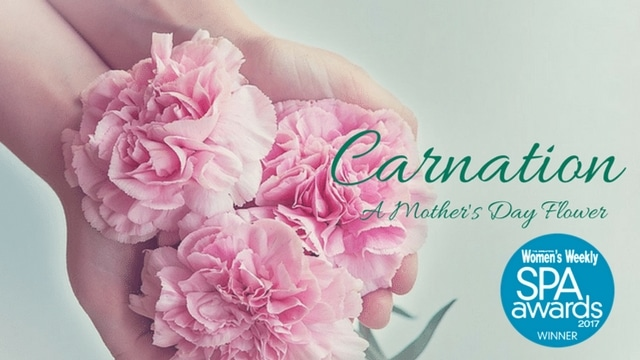 Mother's Day Spa Carnation Flower - Singapore Women's Weekly Spa Awards 2017 Winner