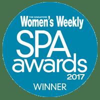 Singapore Women's Weekly Spa Awards 2017 Winner