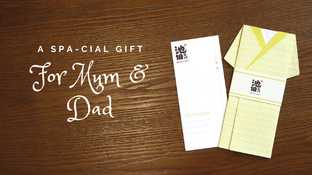mother's day spa and father's day spa gift ikeda spa 2020 - voucher