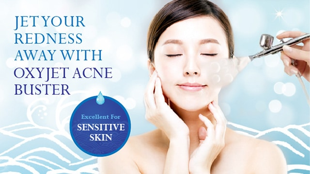 acne treatment singapore - oxyjet acne buster
