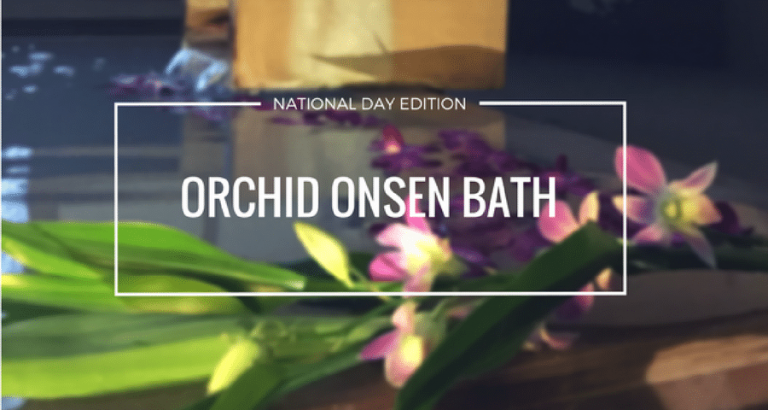 National Day Promotion Orchid Onsen Bath