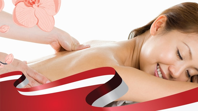 National Day Promotion Shiatsu Acupressure Massage