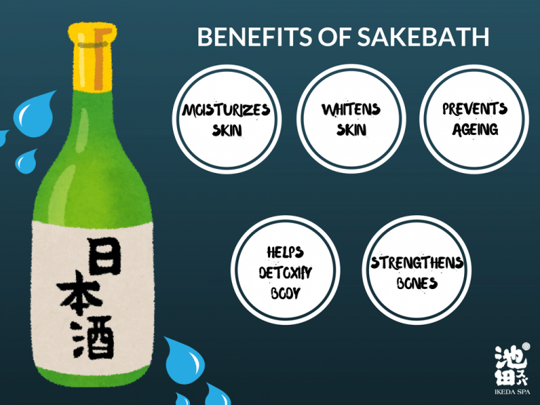 Sake Bath Health Benefits
