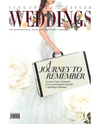 Singapore Tatler Weddings Press Cover