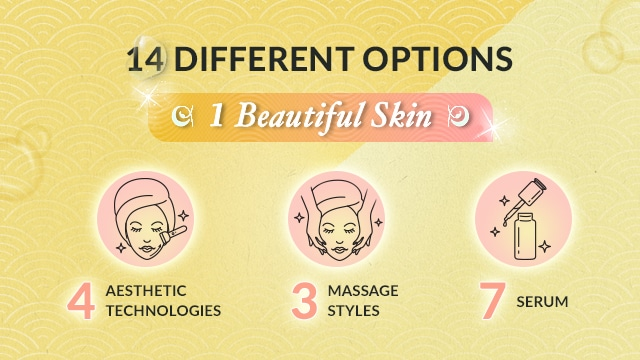 customised deep cleansing facial - ikeda spa treatment options