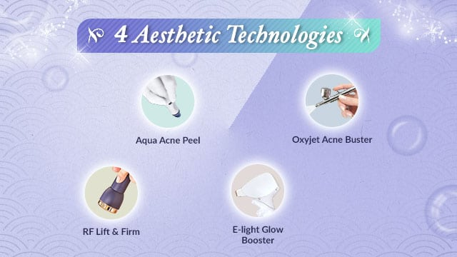facial promotion customised facial - aesthetic technology