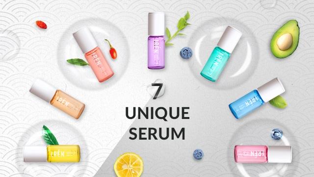facial promotion customised facial - IRÉN Serums