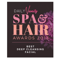 Daily Vanity Spa & Hair Awards 2018 [Best Deep Cleansing Facial]