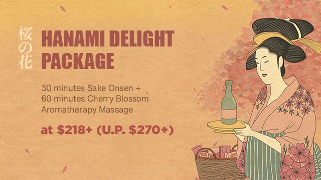 ikeda spa spring promotion 2021 - package 1