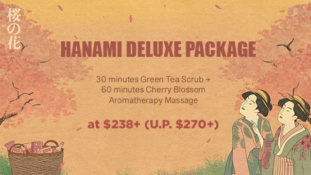 ikeda spa spring promotion 2021 - package 2