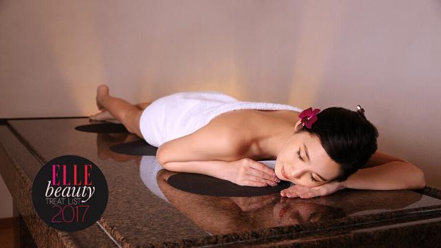 ganbanyoku detox massage at ikeda spa award by elle